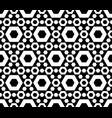 seamless pattern perforated hexagons vector image vector image