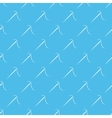 Blue sewing needle seamless pattern vector image