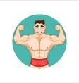 Bodybuilding Coach vector image vector image