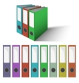 Files and Folders vector image