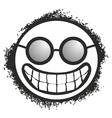 Funny head vector image vector image