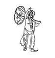 kerala onam festival mahabali also known maveli vector image vector image