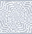 lines rotation pattern vector image vector image