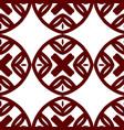 ornamental seamles pattern vector image