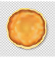 pancake isolated transparent background vector image vector image