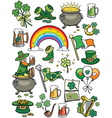 saint patricks day elements vector image