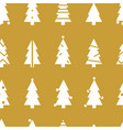 simple christmas seamless pattern with christmas vector image vector image