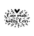 typography romantic poster vector image vector image