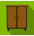 Wargrobe flat icon vector image
