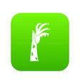 zombie hand icon digital green vector image vector image