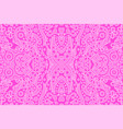 art with abstract seamless oriental pink pattern vector image