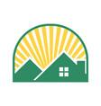 bright future house windowed vector image