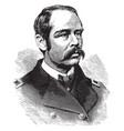 general francis c barlow vintage vector image vector image