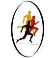 Marathon race vector image vector image