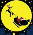 Santa-in-the-moon