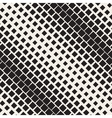 Seamless Halftone Diagonal Gradient vector image vector image