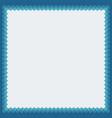 decorative photoframe vector image