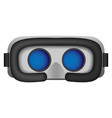 3d glasses mockup realistic style vector image