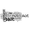 adjustable rate mortgages vs fixed rate mortgages vector image vector image