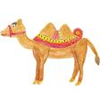 Beautiful Camel vector image