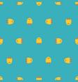 chick pixel art pattern seamless 8 bit little vector image vector image