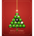 creative christmas card vector image vector image
