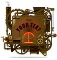 Fantastic machine vector image vector image