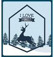 forest concept vector image vector image