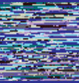 glitch texture colorful background vector image