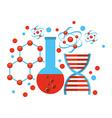 laboratory icon vector image