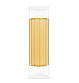 pasta in packaging 03 vector image