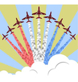 Red Arrows vector image vector image