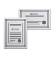 samples certificates vector image
