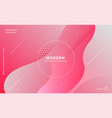 elegant fluid style abstract pink background vector image