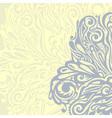 Floral design element vintage style vector image vector image
