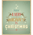 Have a very merry christmas vector | Price: 1 Credit (USD $1)