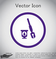 icon pen with ink vector image vector image