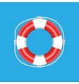 Lifebuoy isolated vector image