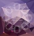 PolygonBackground07 vector image vector image