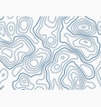 topographic pattern design with shadows vector image vector image