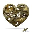 Clockwork Heart vector image vector image