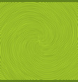 green radiant background with circular swirl vector image