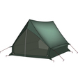 Green tent vector image vector image