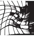Grunge Grid vector image vector image
