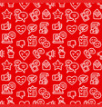 relationship seamless pattern vector image vector image