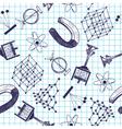 School seamless vector image vector image