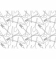 seamless pattern fork spoon knife vector image vector image