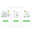 solar energy energy saving renewable energy vector image