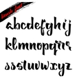 The script - handwriting brush It can be used to vector image vector image