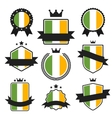 World Flags Series Flag of Ireland vector image vector image